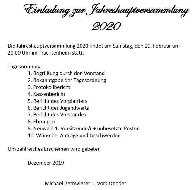 EinladungJHVS2020